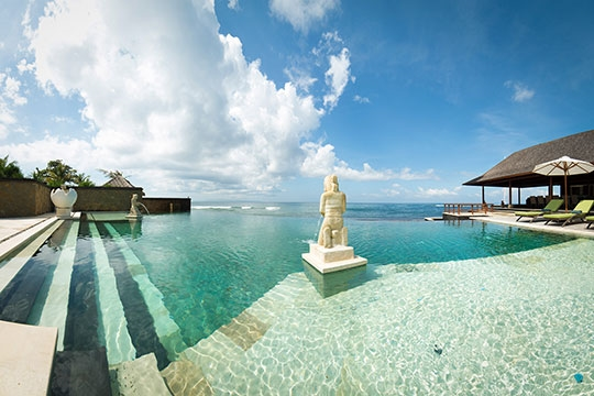 Villa Bayu Gita - Beachfront - The pool