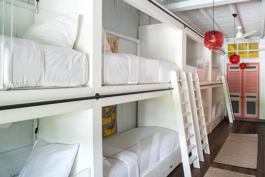 Children's bunk room design